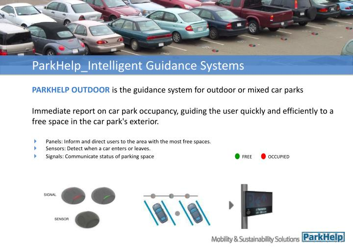 ParkHelp_Intelligent Guidance Systems