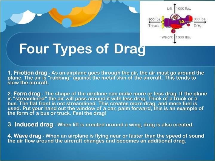 Four Types of Drag