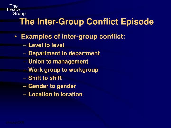 the inter group conflict episode n.