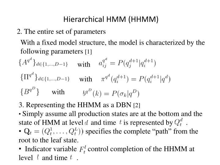 Hierarchical HMM (HHMM)