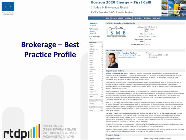 Brokerage – Best Practice Profile