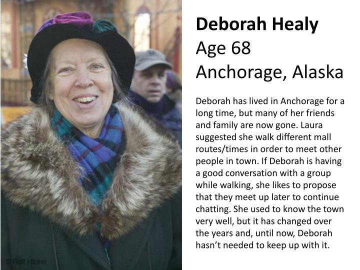 Deborah healy age 68 anchorage alaska