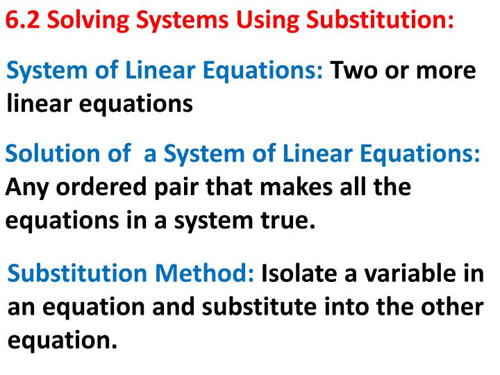 6 2 solving systems using substitution n.