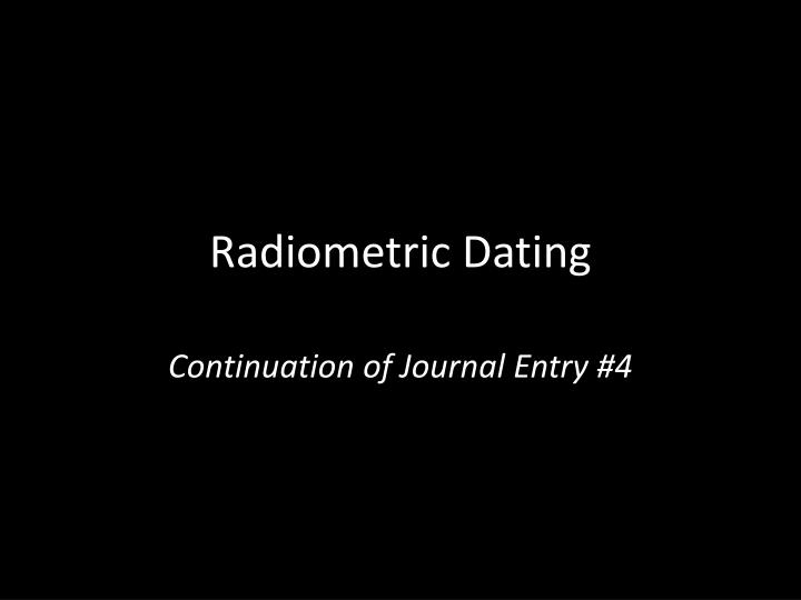 from Castiel radiometric dating ppt