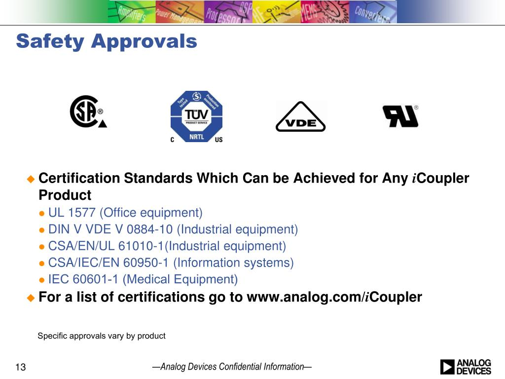 PPT - i Coupler ® and iso Power ® Isolation Products