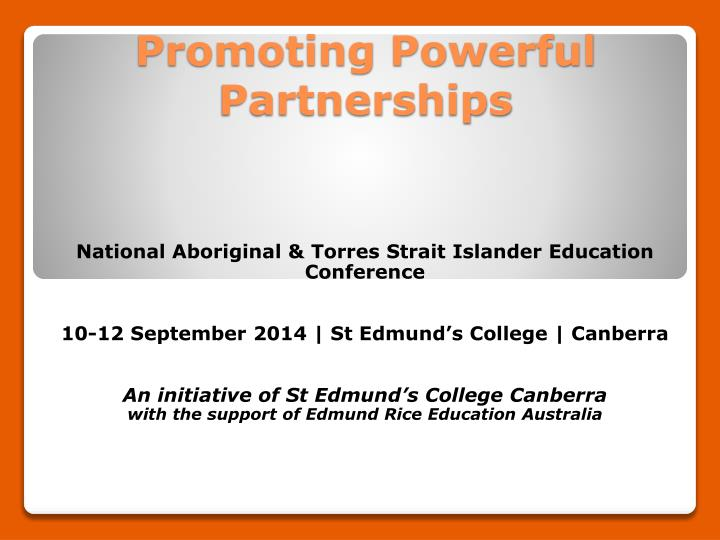 promoting powerful partnerships n.