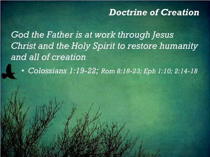 Doctrine of Creation