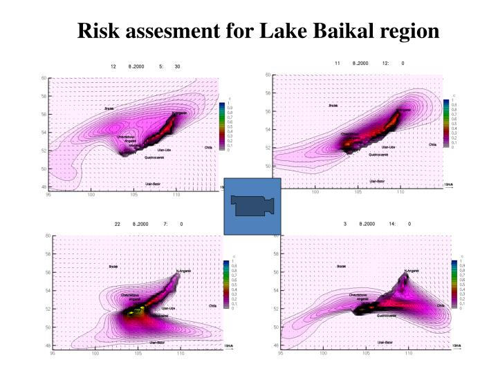 Risk assesment for Lake Baikal region