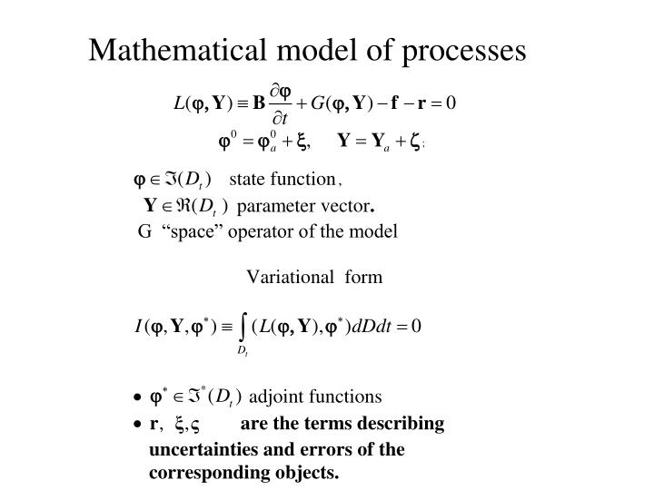 Mathematical model of processes