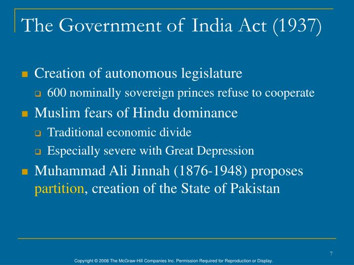 The Government of India Act (1937)