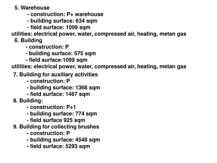 5. Warehouse
