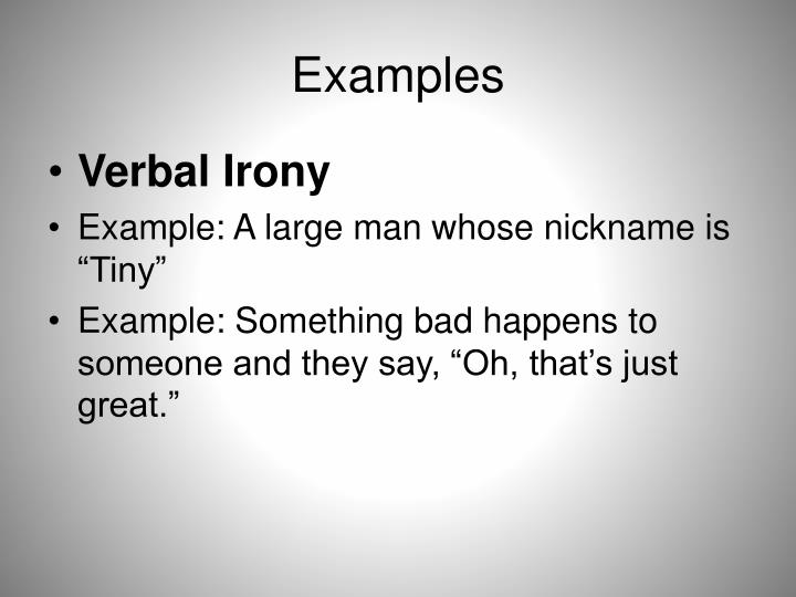 examples of verbal irony in the crucible