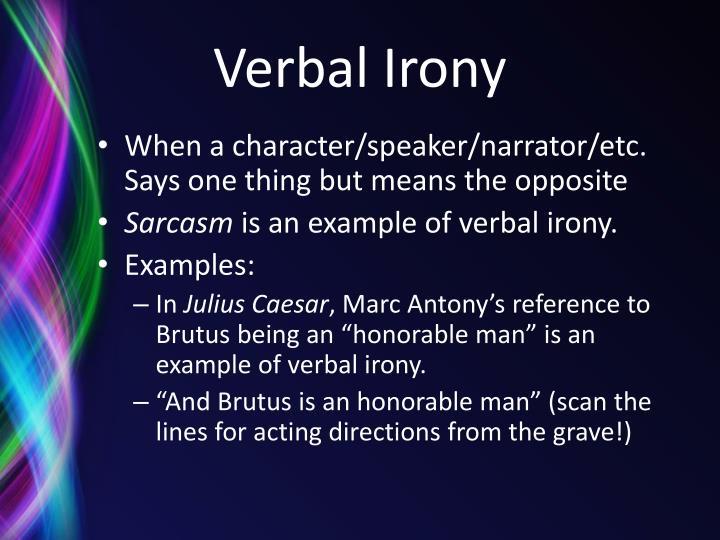 PPT - Irony PowerPoint Presentation - ID:2731572