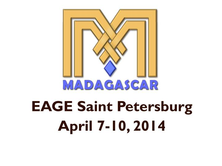 Eage saint petersburg april 7 10 2014