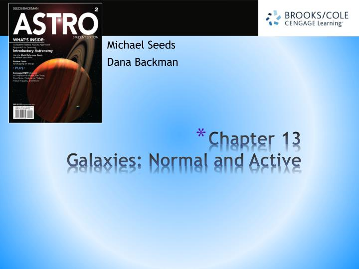 Chapter 13 galaxies normal and active