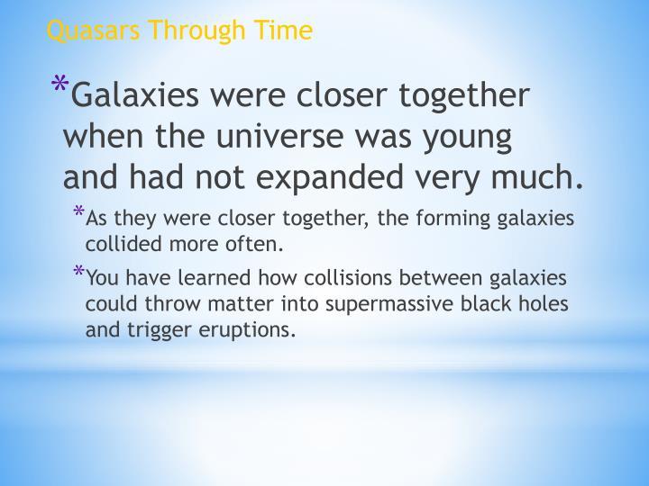 Quasars Through Time