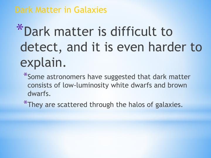 Dark Matter in Galaxies