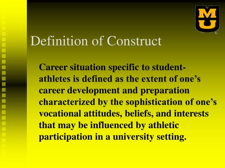 Definition of Construct