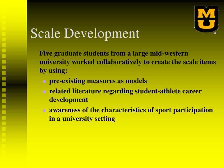 Scale Development