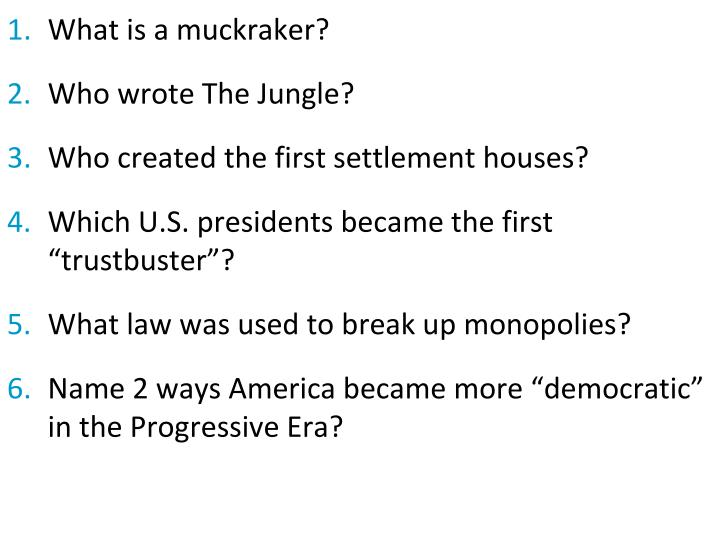 What is a muckraker?