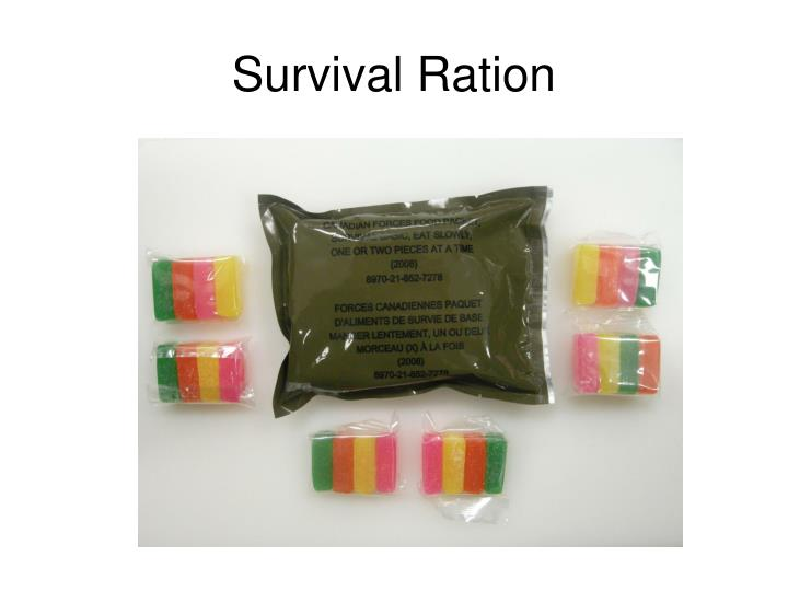 Survival Ration