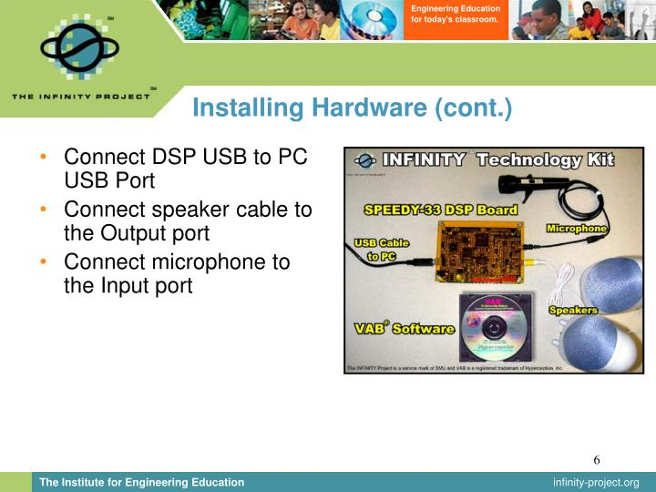 Installing Hardware (cont.)