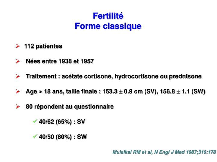 Fertilité
