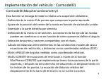 implementaci n del veh culo carmodel011