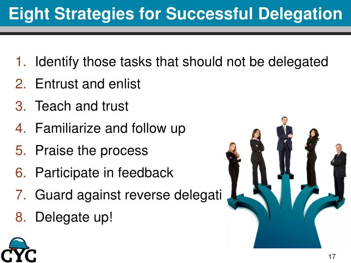 Eight Strategies for Successful