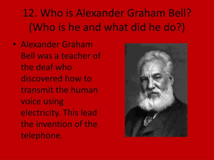 alexander graham bell essay 12