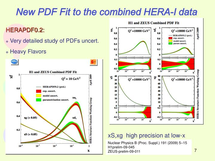 New PDF Fit to the combined HERA-I data