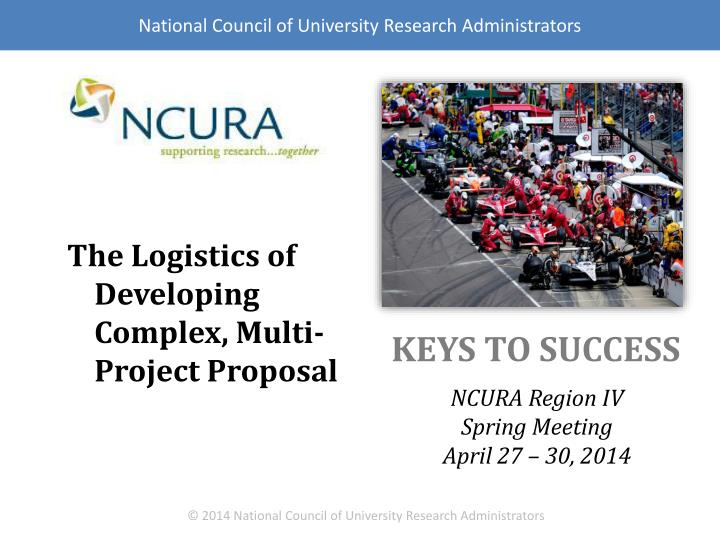 National Council of University Research Administrators