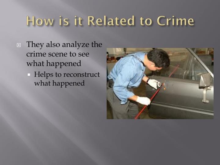 analysis the crime pattern of coastal Bloodstain pattern recognition can be an important tool to aid in an investigation the examination of bloodstain patterns is based on principles an introductory class in bspa will improve the efficiency with which an investigator documents patterns at a crime scene and selects stains for dna analysis.