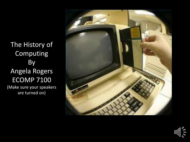 history of computing A typical computer operation back when computers were people the abacus was an early aid for mathematical computations its only value is that it aids the memory of the human performing the calculation.