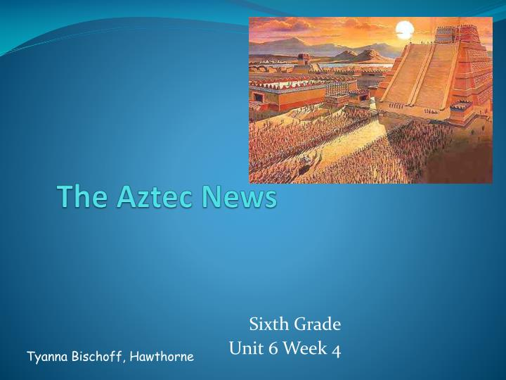 the aztec news n.
