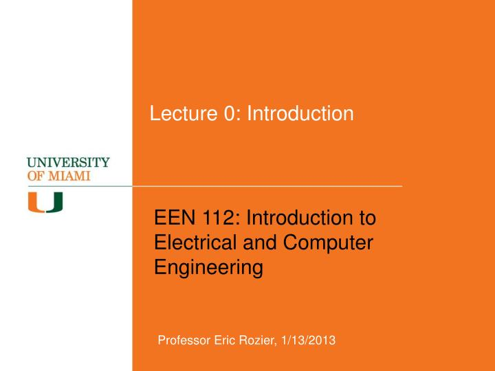 lecture 0 introduction n.