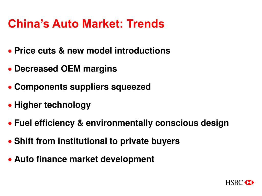 PPT - Banking on China's Auto Market PowerPoint Presentation - ID