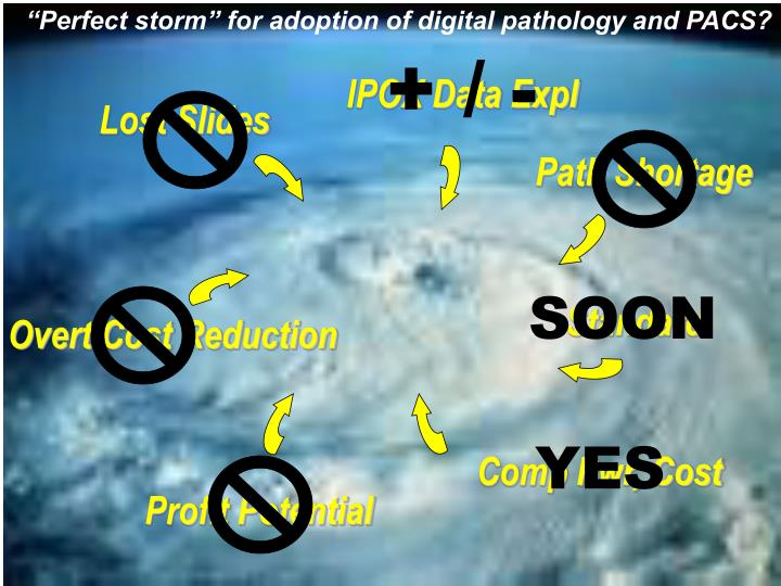 """""""Perfect storm"""" for adoption of digital pathology and PACS?"""