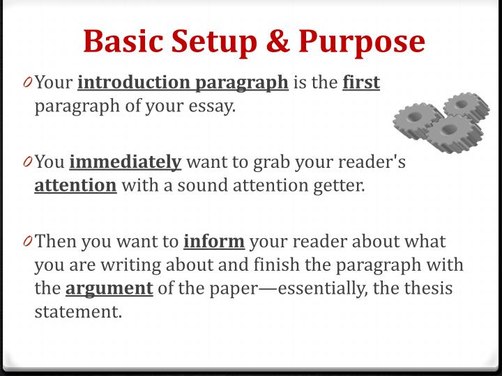 intriguing essay introductions Introductions and conclusions introductions and conclusions play a special role in the academic essay, and they frequently demand much of your attention as a writer a good introduction should identify your topic, provide essential context, and indicate your particular focus in the essay.