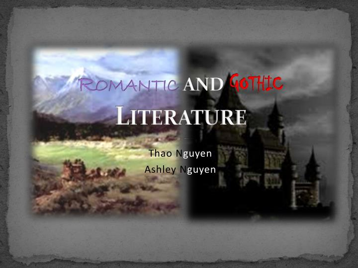 ppt - romantic and gothic literature powerpoint presentation - id, Powerpoint templates