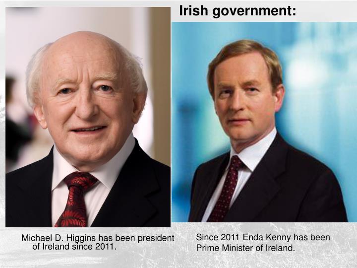 Irish government: