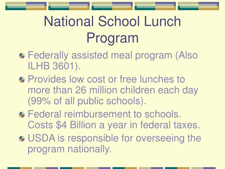 nation school lunch program National school lunch program the following are forms, fact sheets, and links to federal regulations and policy memorandums from the ohio department of education.
