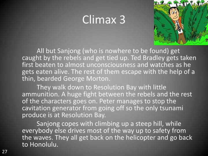 Climax 3