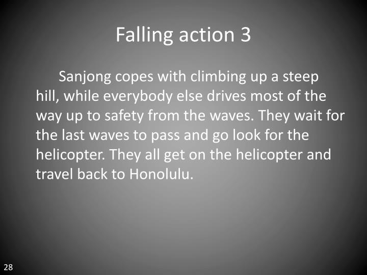 Falling action 3