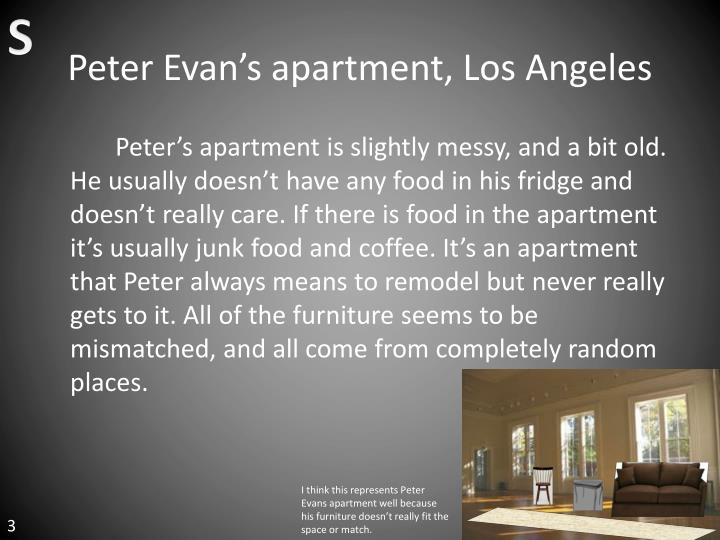 Peter evan s apartment los angeles