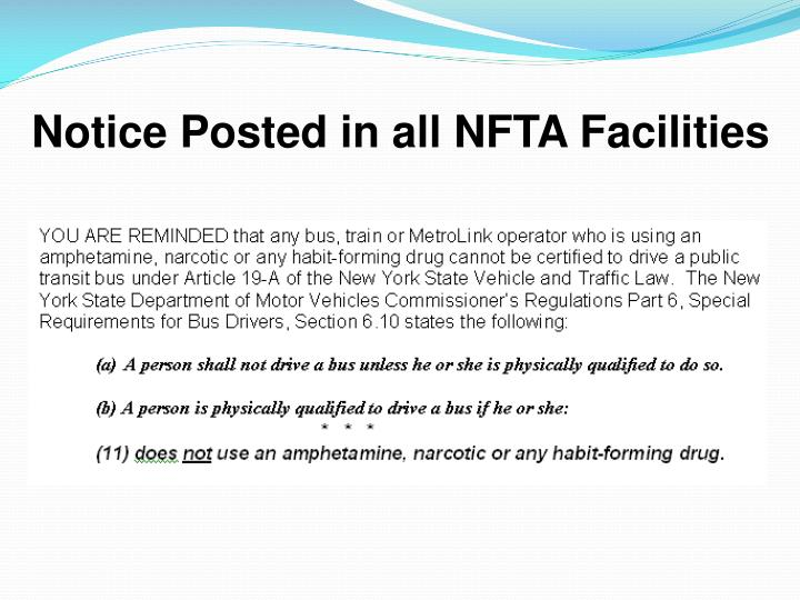Notice Posted