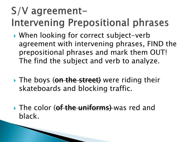 Ppt Subject Verb Agreement Powerpoint Presentation Id2734940