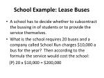 school example lease buses