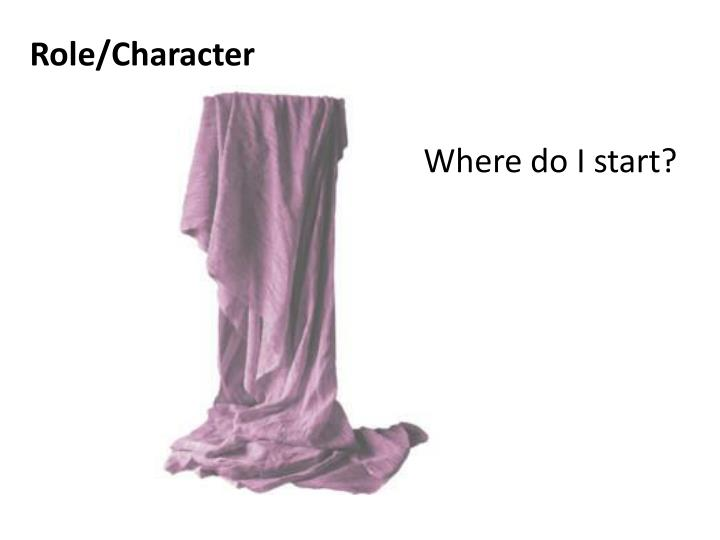 Role/Character