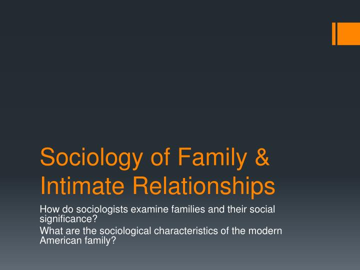 relationship of sociology and education ppt